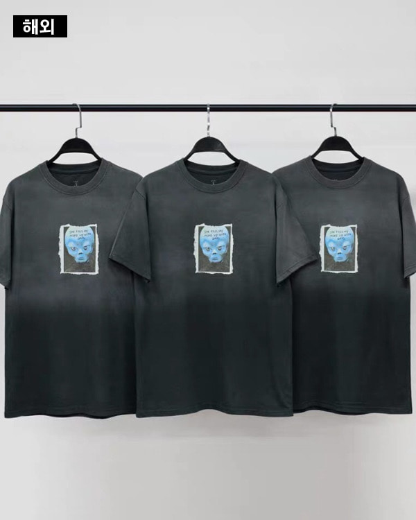 [해외]Alienbeauty 1/2 tee